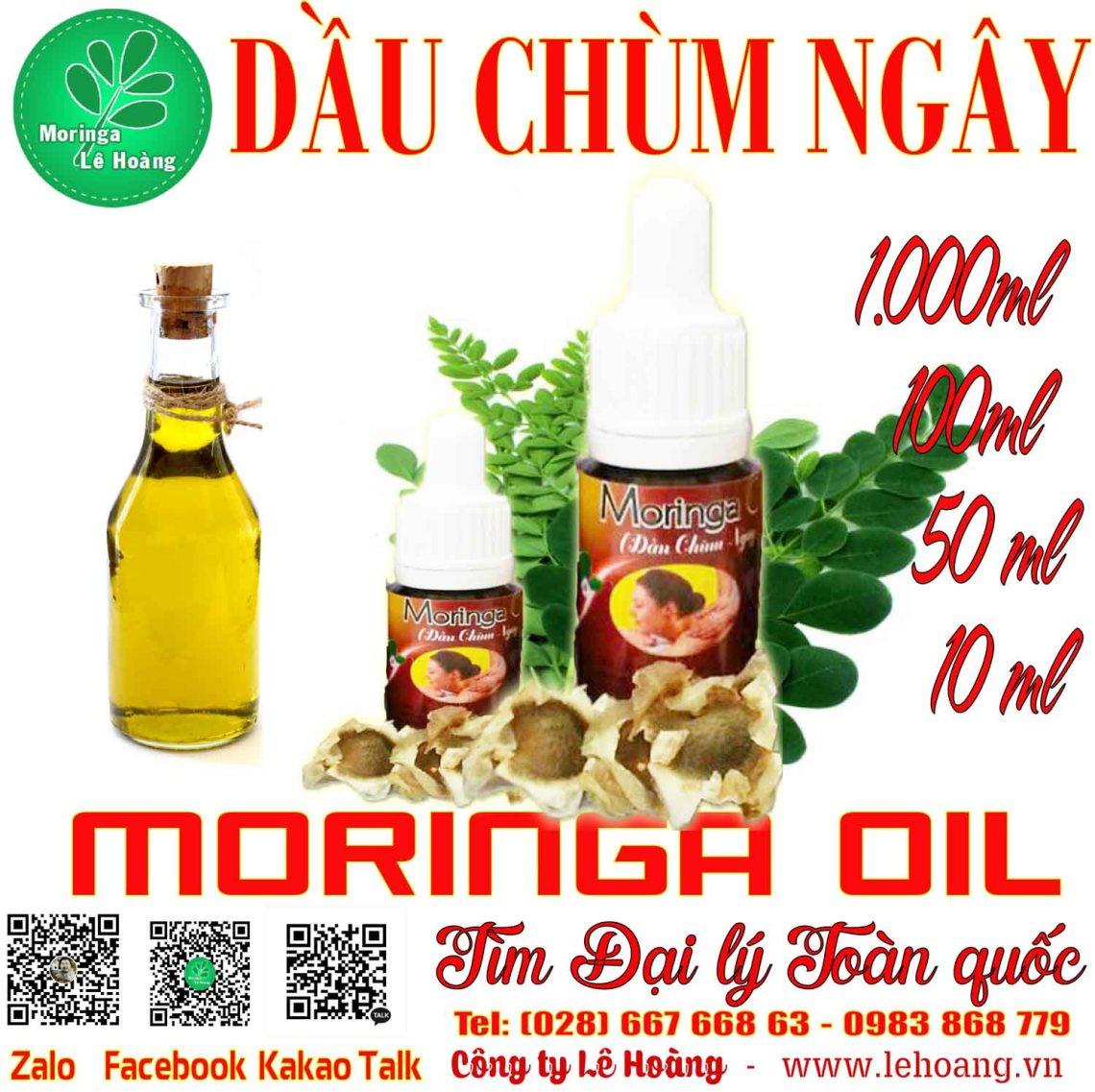 Dầu Chùm ngây (Moringa Seed Oil)