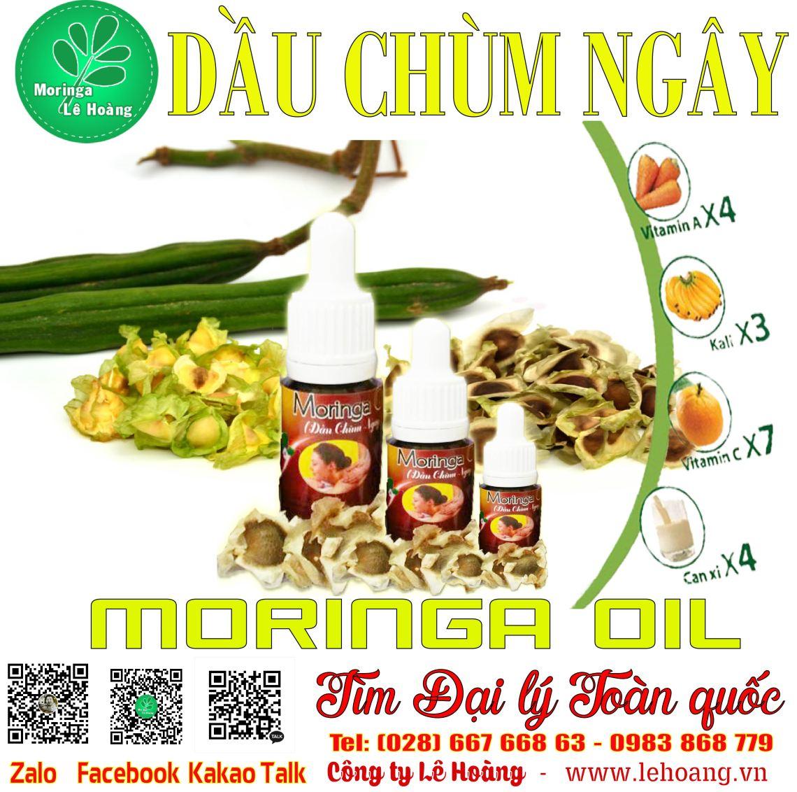 Dầu Chùm ngây (Moringa Oil) nguyên chất 100% - Uy tín hơn 5 năm